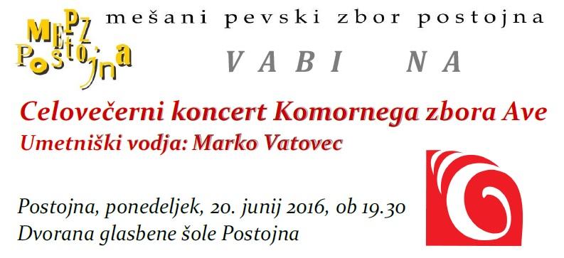 VABILO AVE JUNIJ 2016