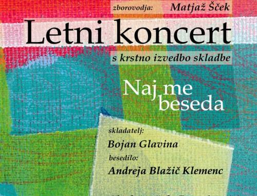 Letni koncert MePZ Postojna